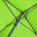 Parasol Lacanau Vert Lime 200 x 200 cm Alu : détail de l'ouverture