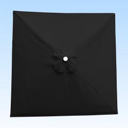 Toile acrylique Sunbrella ® 3906 Carbon pour parasol carré 2x2
