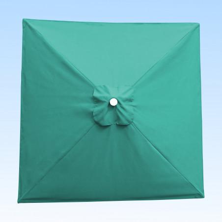Toile acrylique Sunbrella ® Bleu Turquoise Aruba pour parasol carré 2x2