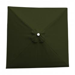 Toile acrylique Sunbrella ® Vert Kaki pour parasol carré 2x2