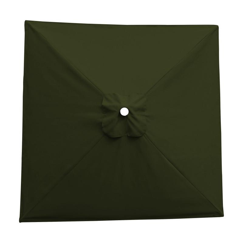 Toile acrylique Sunbrella ® Kaki 3767pour parasol carré 2x2