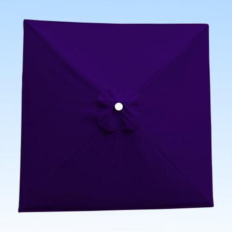 Toile acrylique Sunbrella ® Purple pour parasol carré 2x2