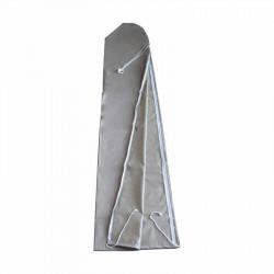 Housse de protection pour parasol 250 cm à 300 cm : vue à plat