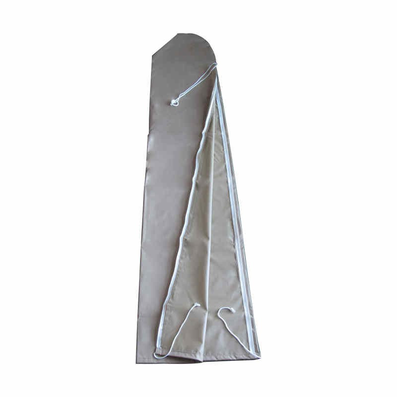 Housse de protection pour parasol Lacanau 300 cm : vue à plat