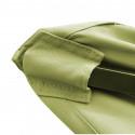 Parasol Arcachon Vert Mousse 200 x 250 cm Alu : détail accrochage toile sur baleine