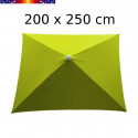 Parasol Arcachon Vert Limone 200 x 250 cm