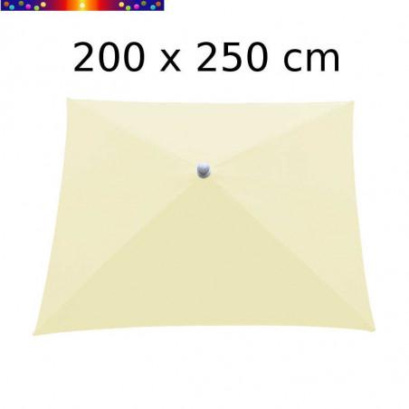 Parasol Arcachon Ecru 200 x 250 cm Alu