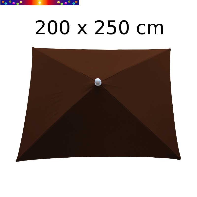 Parasol Arcachon Mocca 200 x 250 cm Alu