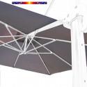 Toile en second choix : Toile 3x3 pour Parasol déporté Biscarrosse GRIS SOURIS