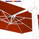 Toile en second choix : Toile 3x3 pour Parasol déporté Biscarrosse TERRACOTTA