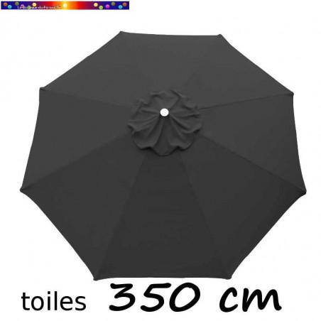 Toile en second choix : Toile à personnaliser pour parasol 350 cm Gris Souris