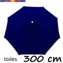 Toile en second choix : Toile de remplacement pour parasol 300 cm COULEUR BLEU MARINE