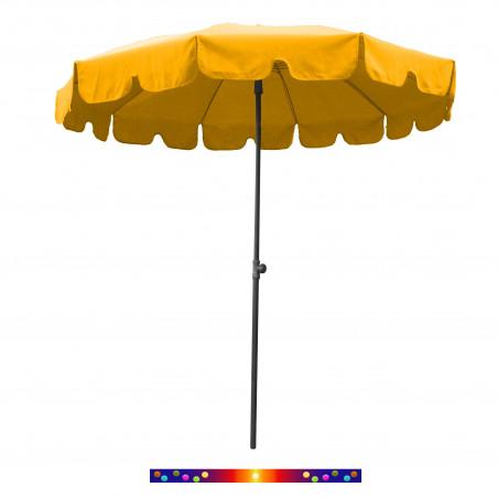 Parasol Jaune Maïs 200 cm design italien