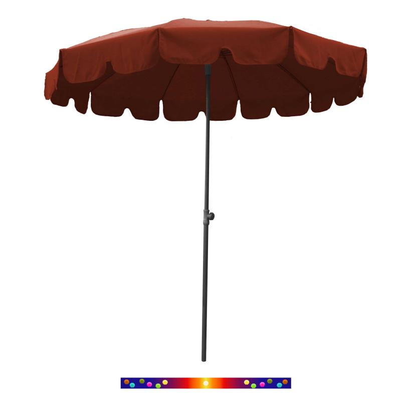 Parasol Terracotta 200 cm design italien