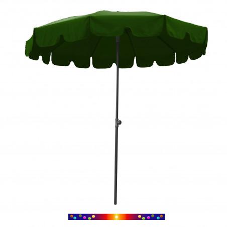 Parasol Vert Anglais 200 cm design italien