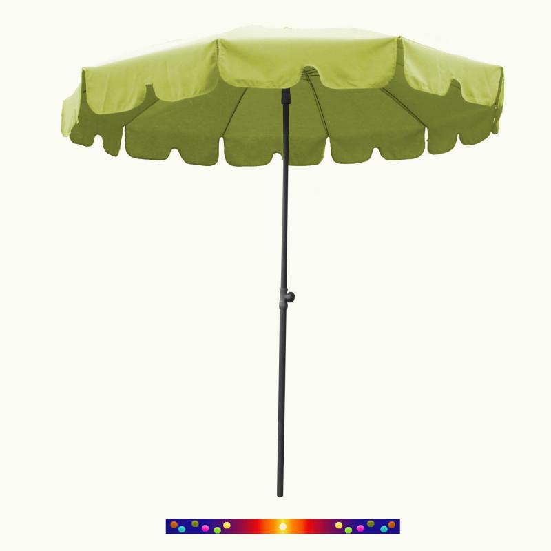 Parasol Vert Lime 200 cm design italien