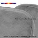 Housse pour parasol 200 cm x Largeur 30 cm : détail de la toile et détail des coutures