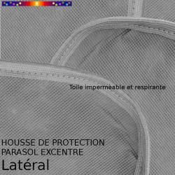 Housse pour parasol excentré latéral 310 cm x Largeur 60 cm : détail de la toile