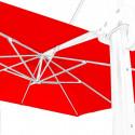 Toile en second choix : Toile 3x3 pour Parasol déporté Biscarrosse ROUGE