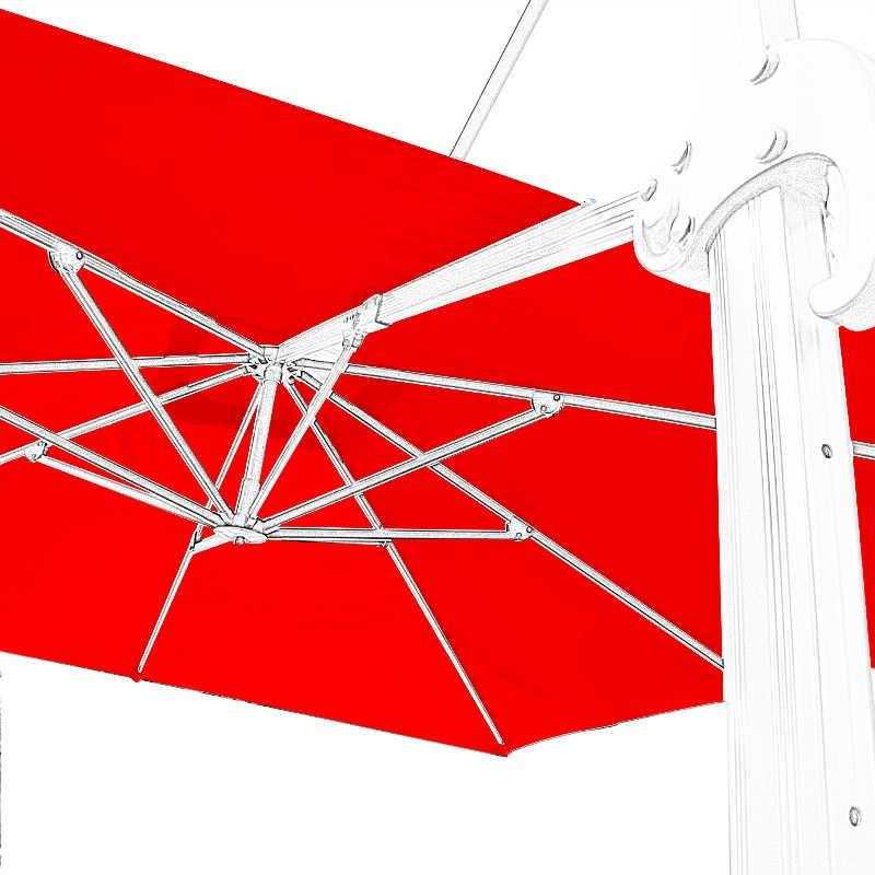 toile de second choix toile de remplacement pour parasol. Black Bedroom Furniture Sets. Home Design Ideas