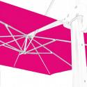 Toile en second choix : Toile 3x3 pour Parasol déporté Biscarrosse ROSE FUSHIA