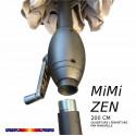 Parasol Mini ZEN : détail de l'emboitement du mât