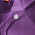 Toile de remplacement VIOLETTE pour parasol 300 cm : perçage central de la toile