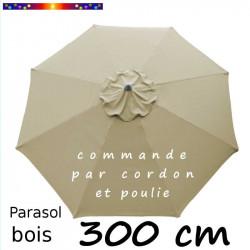 Parasol Lacanau Soie Grège...