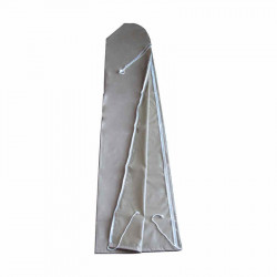 Housse de protection 300 x 50 pour parasol  3 x 4 ou déporté  : vue à plat