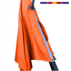 Toile de remplacement du parasol DEPORTE OCTOGONAL 350cm Orange