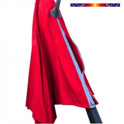 Toile de remplacement du parasol DEPORTE OCTOGONAL 350cm Rouge