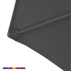 Toile HEXAGONAL 300/6 cm couleur Gris Souris : détail du pochon d'accrochage de la baleine