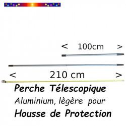 Perche Alu Télescopique 110/200cm