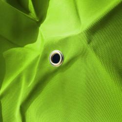 Toile de remplacement pour parasol 300 cm Vert Lime : détail de l'oeillet central