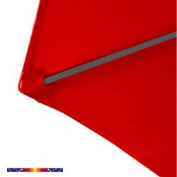 Toilel HEXAGONAL 300/6 cm couleur Rouge : détail du pochon d'accrochage de la baleine