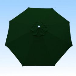 Toile de remplacement pour parasol 300 cm Vert Pinède