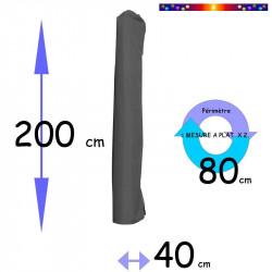 Housse pour parasol 201 cm x Largeur 40 cm