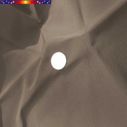 Toile de remplacement pour parasol 300 cm Gris Taupe : détail de l'oeillet central