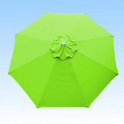 Toile de remplacement pour parasol 300 cm Vert Lime