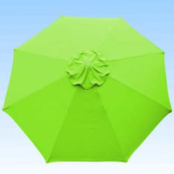 Toile de remplacement  350 cm Vert Lime : toile vue de dessus
