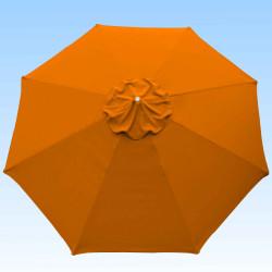 Toile de remplacement 350 cm Orange : toile vue de dessus