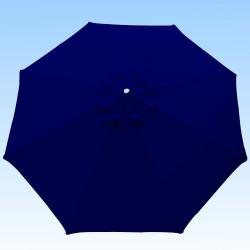 Toile de remplacement 350 cm Bleu Marine : toile vue de dessus