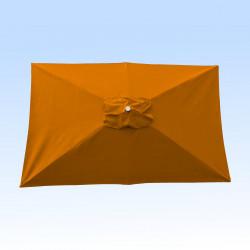 Toile pour parasol rectangle 2x3 polyester Orange