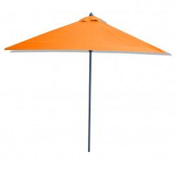 Parasol Lacanau Orange 2x2 : vu de coté