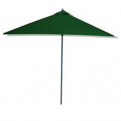 Parasol Lacanau Vert Pinède  2x2 Aluminium : vu de coté