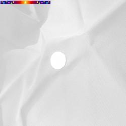 Toile Blanc Jasmin pour parasol octogonal 300 cm : détail du perçage central
