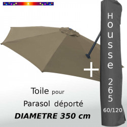 Pack : Toile Taupe pour...