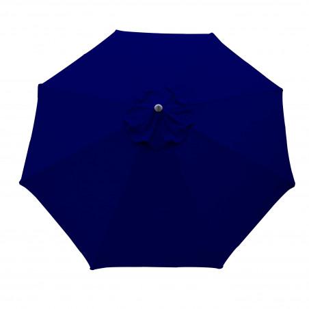 Parasol Lacanau Bleu Marine 300 cm Alu Manivelle