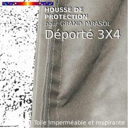 Housse pour parasol déporté Hauteur 275 cm x Largeur 75/150 cm