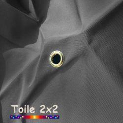 Toile de remplacement pour parasol carré 2x2 Gris Flanelle